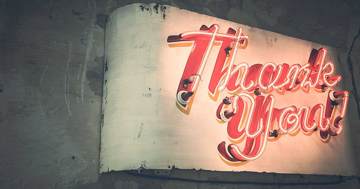 How to tell your customer thank you in creative ways